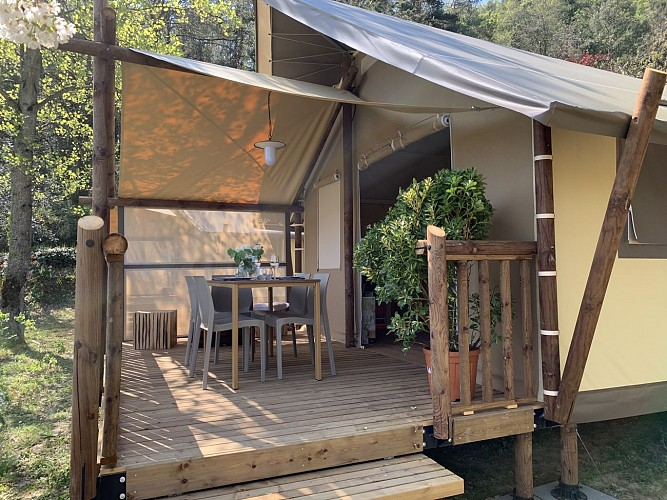 Bivouac au Camping Calme et Nature***