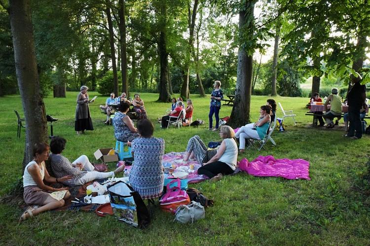 Picnic area - Tabarderie Park