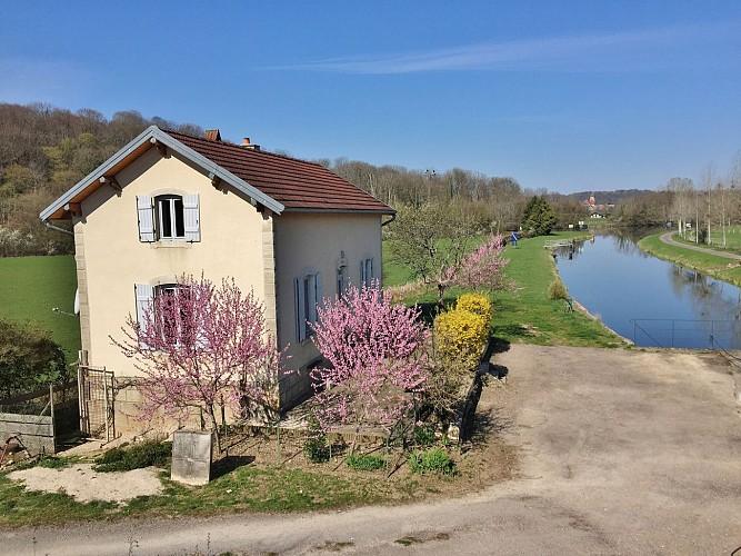 Gîte de pêche en Saône à Vanne