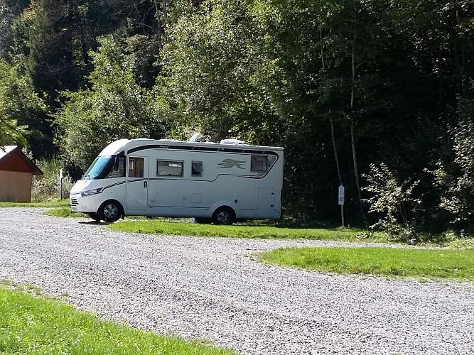 Aire de camping-car de l'Île du Chéran