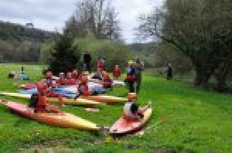 Le club de kayak