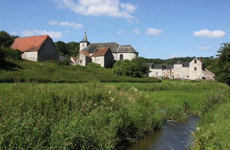 Sosoye, eines der Schönsten Dörfer der Wallonie