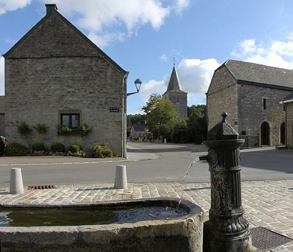 Ny, eines der schönsten Dörfer der Wallonie
