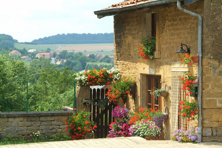 Torgny, eines der Schönsten Dörfer der Wallonie