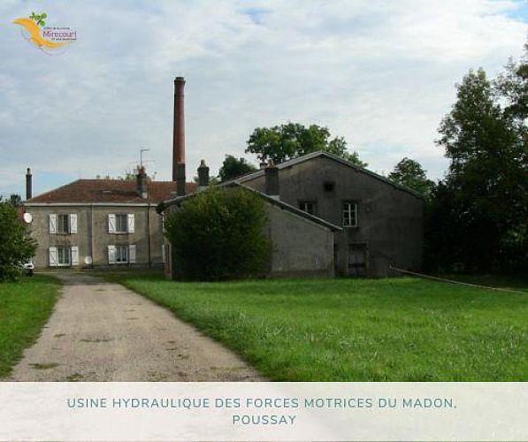 USINE HYDRAULIQUE DES FORCES MOTRICES DU MADON