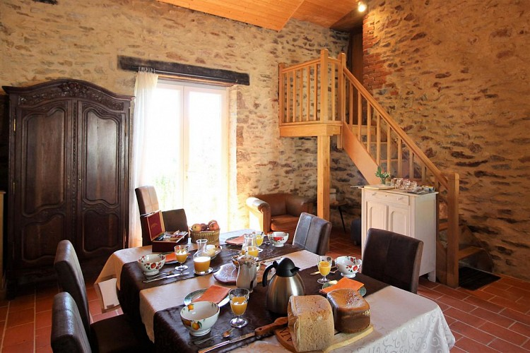 Gîtes de France chambres d'hôtes La Chapelle Blanche