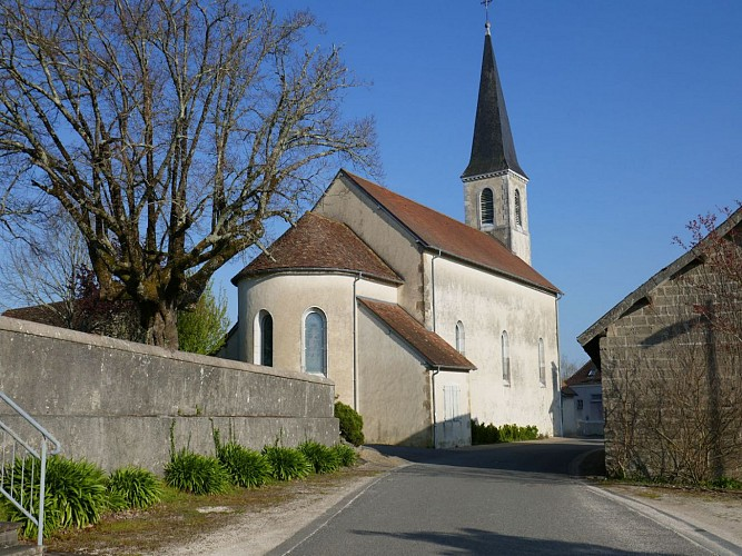 Garos église cph Tourisme Nord Béarn et Madiran (1)