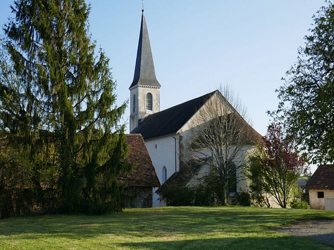 Garos église cph Tourisme Nord Béarn et Madiran (5)