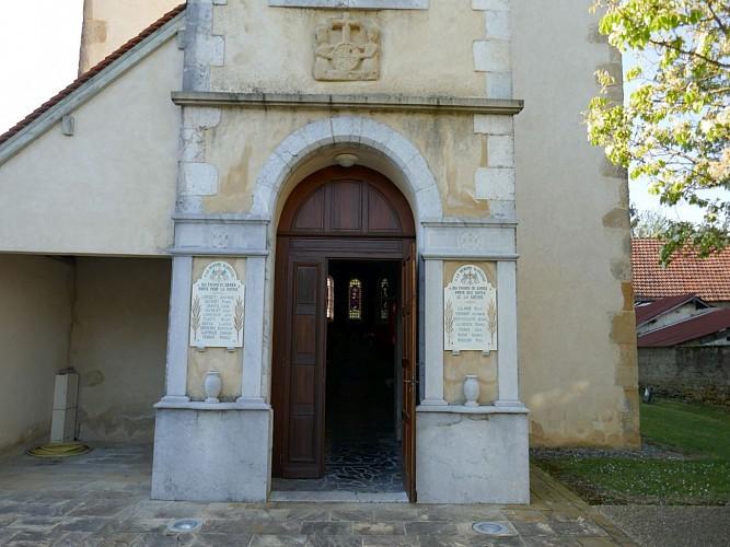 Garos église cph Tourisme Nord Béarn et Madiran (8)