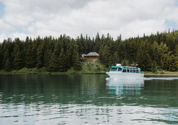 Croisière sur le Lac Maligne & Découverte de Spirit Island - Parc National Jasper