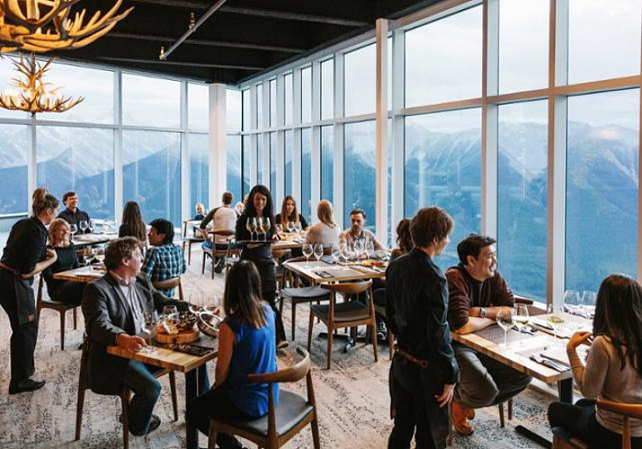 Billet téléphérique de Banff - Accès au sommet de Sulphur Mountain