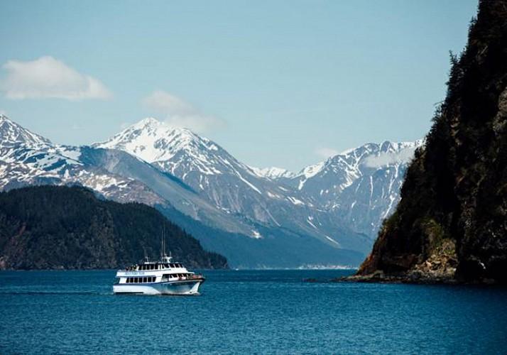 Croisière dans les Fjords du parc national Kenai - Au départ de Seward (Alaska)