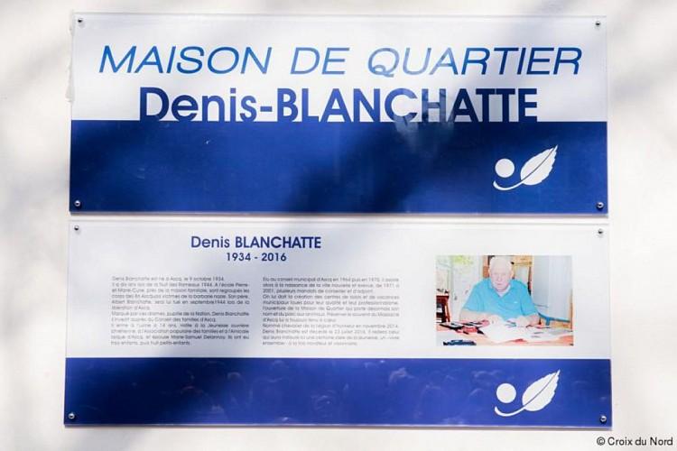 Maison de quartier Denis Blanchatte