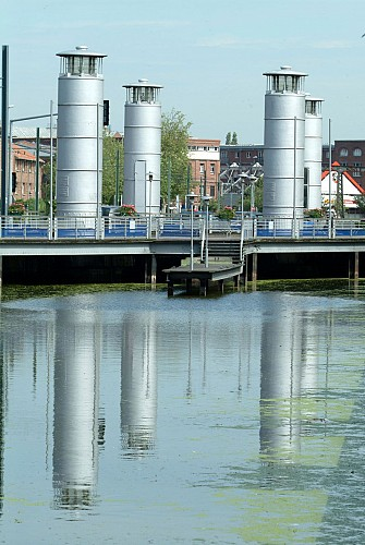 Le pont hydraulique