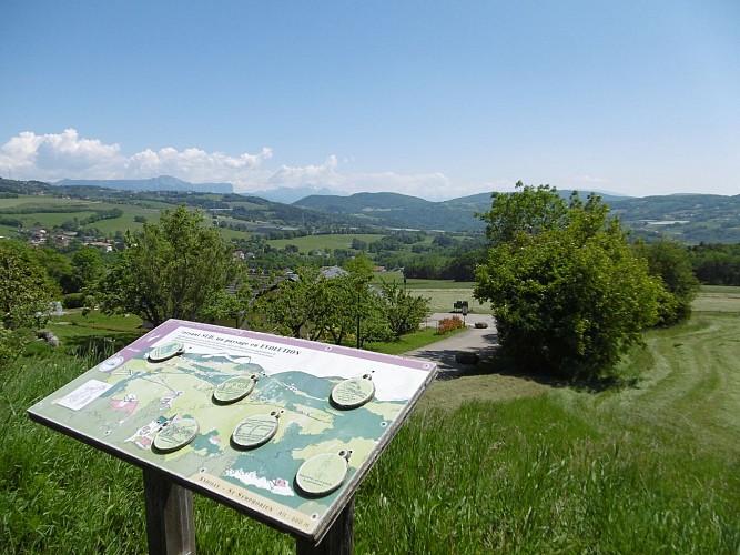 Table de lecture de paysage - Jussy