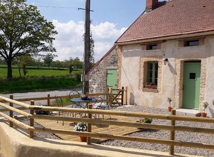 Huisje op de boerderij