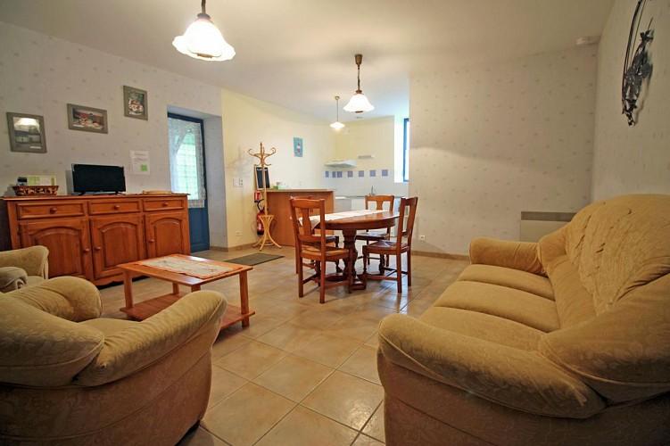 875383 - 5 people - 2 bedrooms - 3 'épis' (ears of corn) - St Julien le Petit -