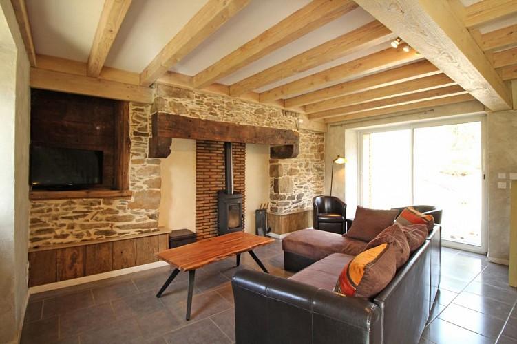 875173 - 11 people - 5 bedrooms - 3 'épis' (ears of corn) - La Croisille sur Briance -