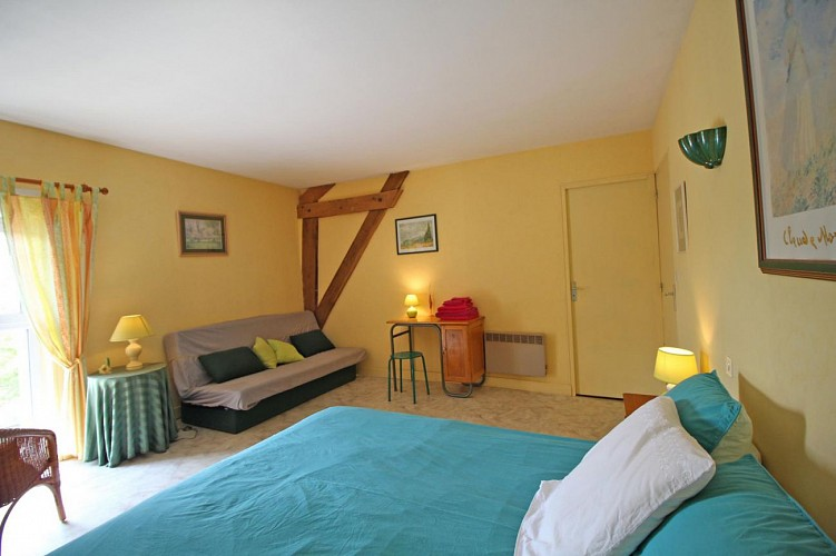 Andrée and Jean-Marie Tessier's bed and breakfast (Gîtes de France) -
