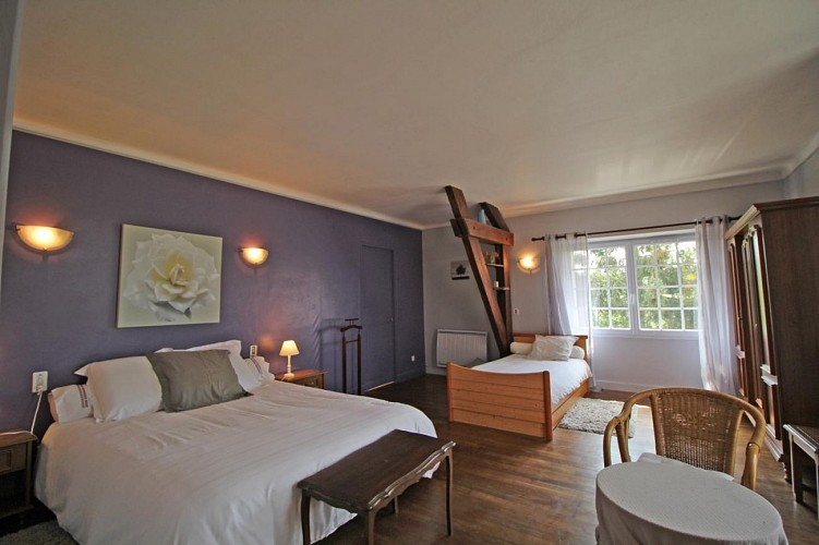 Chambres d'hôtes Gîtes de France d'Andrée et Jean-Marie TESSIER