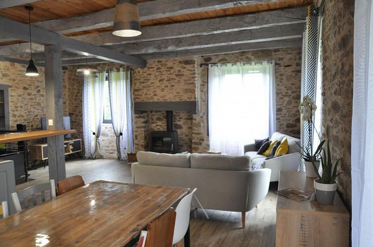 Location Gîtes de France La Maison de Théo & Léa - Réf : 19G3053