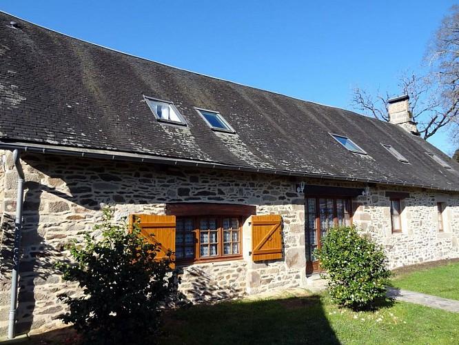 Location Gîtes de France gîte la blanche lyre - Réf : 19G1011