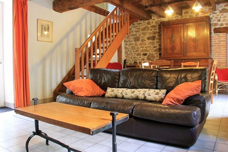 Location Gîtes de France - GOUZON - 4 personnes - Réf : 23G672