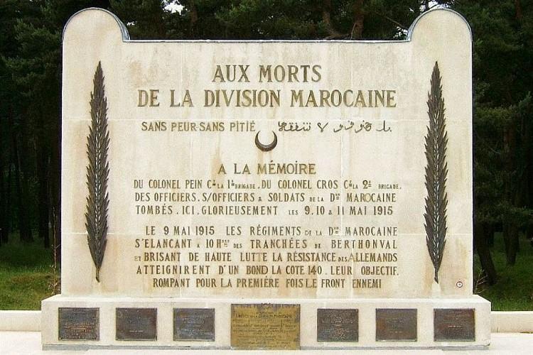 Monument à la Division Marocaine