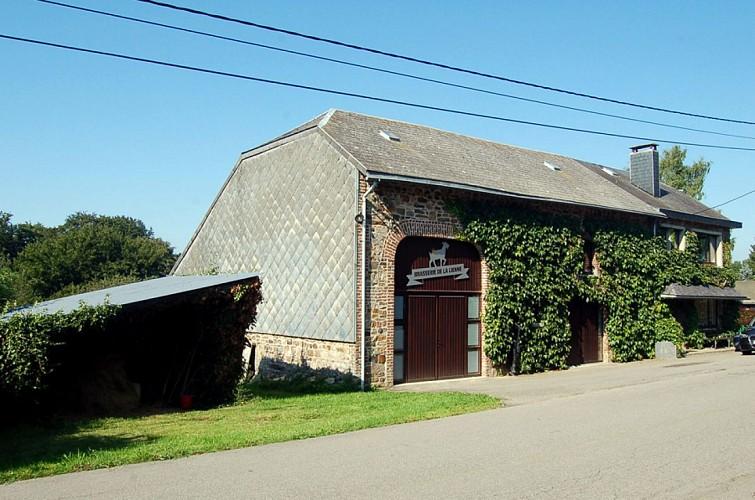 Genot voor alle zintuigen : Brasserie de la Lienne te Reharmont