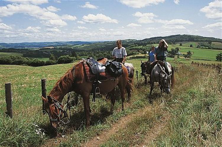 Paardenboerderij van Ribières en van Fressanges