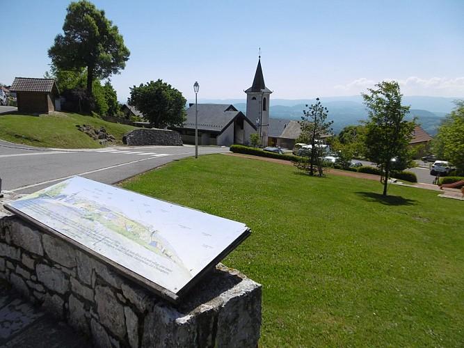 Table d'orientation - Saint-Blaise