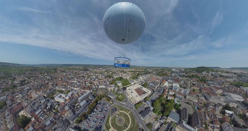 Ballon captif - Epernay