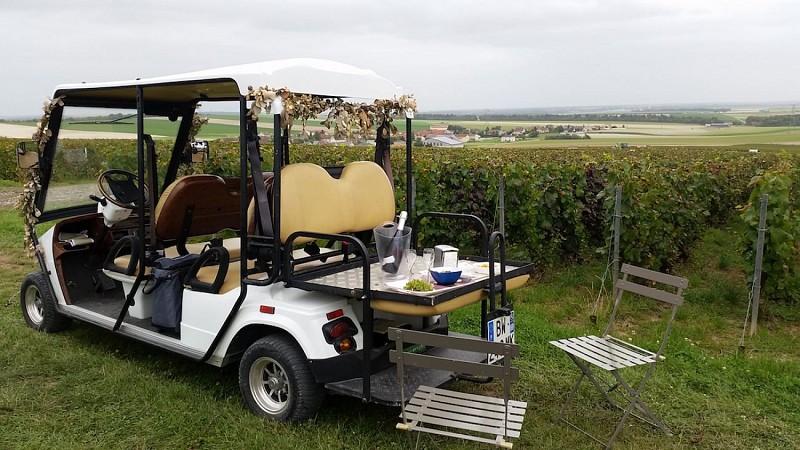 Balades en voiturette électrique – Champagne Bonnevie-Bocart