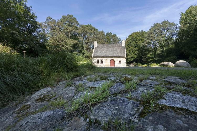 Etang et moulin de Coatgoureden