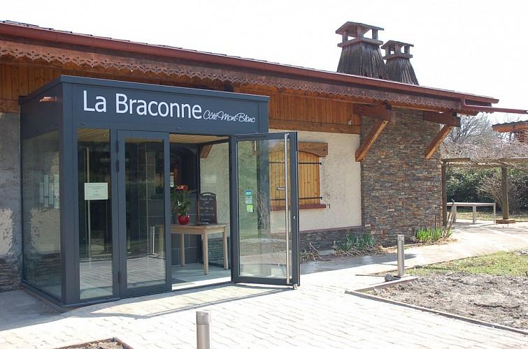 Restaurant la Braconne côté Mont-Blanc