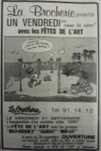 La salle de concert Sainte-Croix-des-Pelletiers et le monde de la nuit 4/4