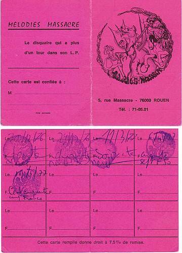 Le disquaire Mélodies Massacre, Dogs, les années punk à Rouen (2/2)