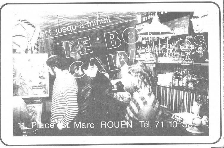 Les bars fréquentés par la jeunesse rock : « la rue de la Soif »