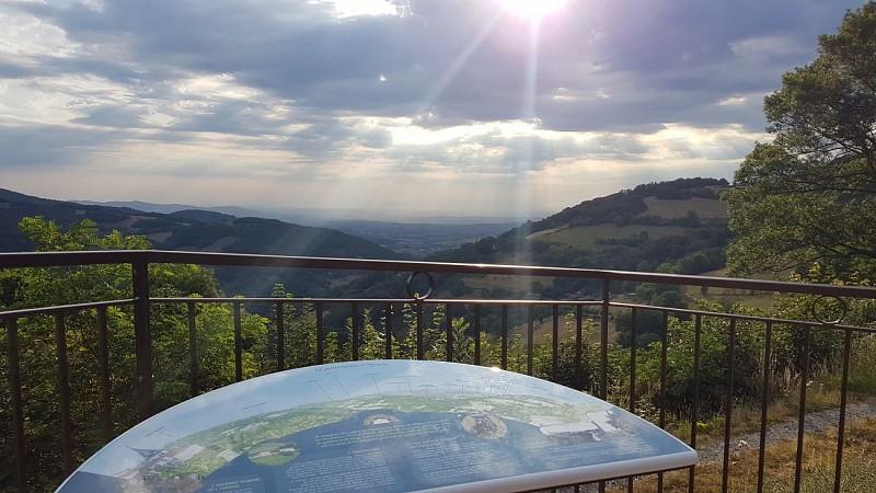 Table de lecture du paysage - Yzeron