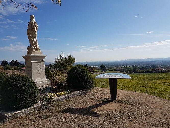 Table de lecture du paysage - Sainte-Consorce