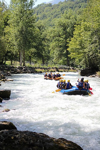 AN Rafting - Eaux-vives