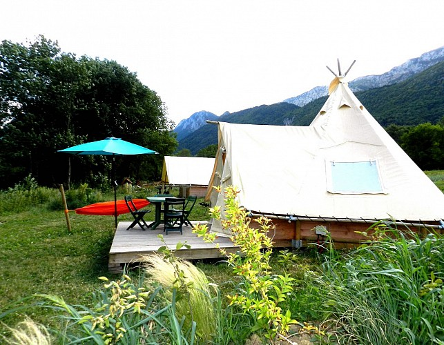 Taillefer Ecolodge Campground