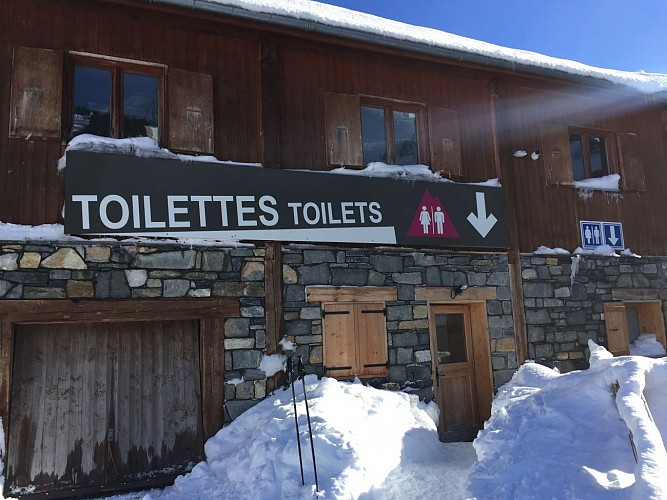 Toilettes publiques - Marmottes
