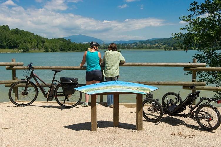 Mountain bike and electric bike rental