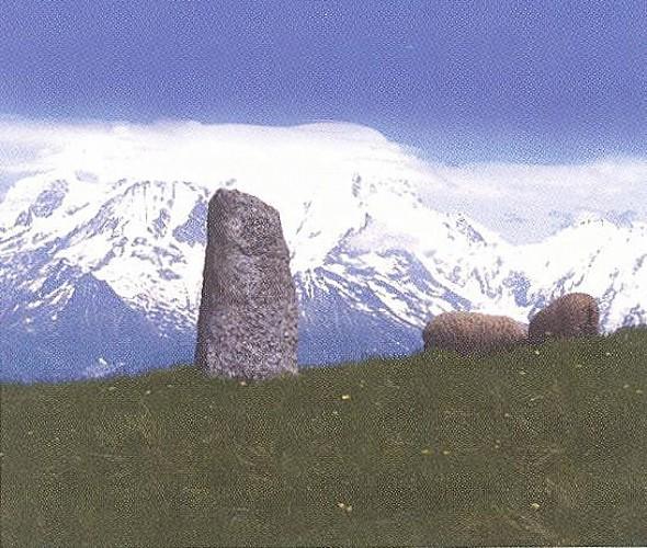 Petit Croisse Baulet Roman boundary marker