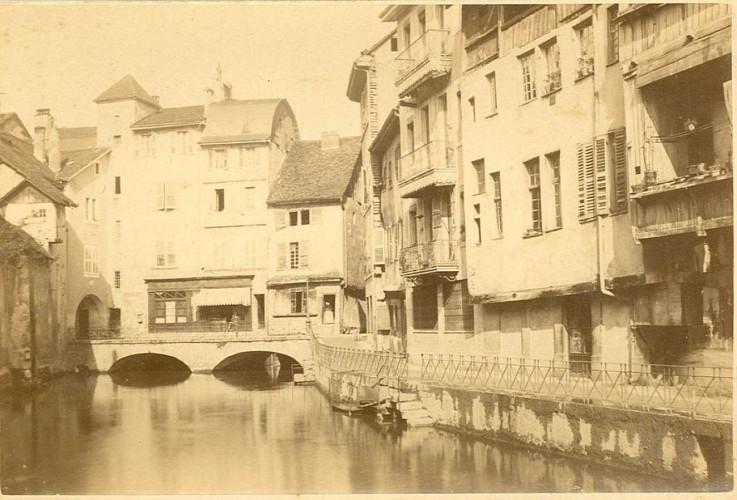 Le pont Morens d'Annecy