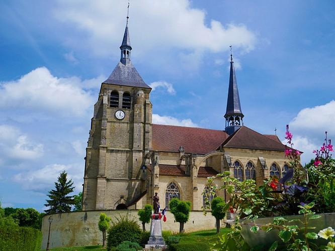 Eglise Saint-Laurent et Saint-Jean-Baptiste de Soulaines-Dhuys