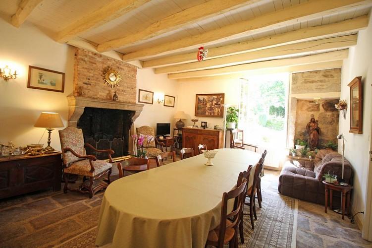 Gîtes de France chambres d'hôtes La Ferme de la Roche