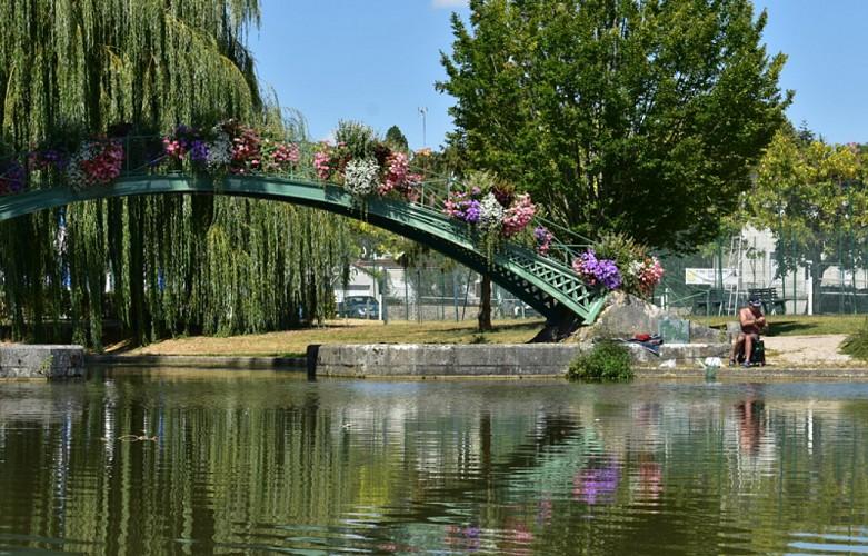Pont des gares d'eau - Briare