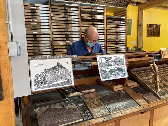 L'imprimerie les amis de Gutenberg